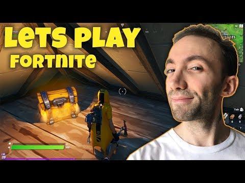 Lets Play Fortnite - یک دست باحاله دیگه تو فورتنایت