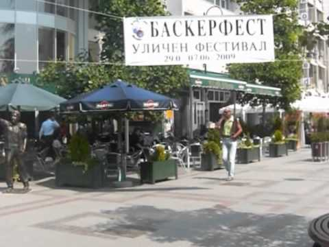 City Tour in One Minute: Skopje, Macedonia