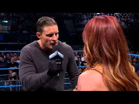 Samuel Shaw has some choice words for Christy Hemme (February 27, 2014)