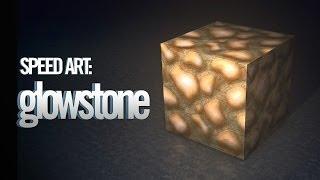 Minecraft Speed Art: Glowstone (R3D.CRAFT)