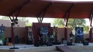 Jir Project Band - LIVE @ NM State Fair Indian VIllage 2016 Clip 1