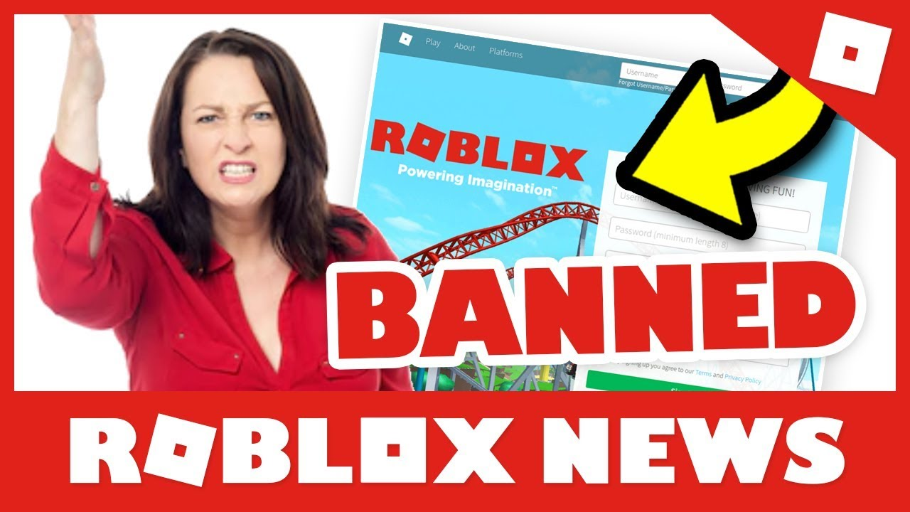 Mom Wants Roblox Banned Roblox Universe Robloxnews Youtube