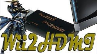 Wii 2 HDMI 720p-1080p Adapter Sengoku Basara 3 Utage Review