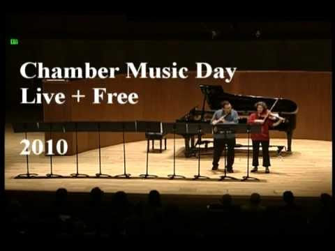 Chamber Music Day . Live + Free
