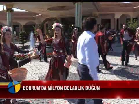 BODRUM'DA MİLYON DOLARLIK DÜĞÜN