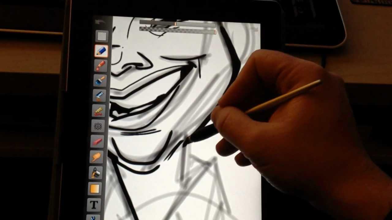 ArtStudio for Caricatures Tutorial Pt.1 (Line-work)