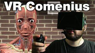 Oculus Rift DK1 + Razer Hydra - VR Comenius (1440p)