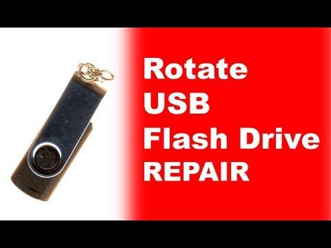Rotate USB Flash Drive  Repair Data Recovery