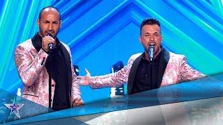 Están CASADOS y también son una GRAN PAREJA ARTÍSTICA | Audiciones 8 | Got Talent España 5 (2019)