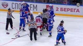 Александр Барабанов заступается за поверженного Виктора Тихонова