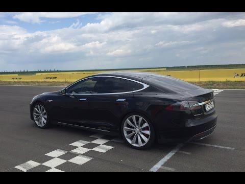 Test Drive Tesla Model S P85D (2015), iDrive TV (Romania), Episodul 1