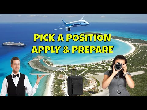 Picking A Cruise Ship Position Apply And Prepare