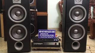 11/2 Thanh Lí BỘ LOA GIÁ RẺ Hát Karaoke và Nghe Nhạc: JBL ND310ii, Crown 460 CSL, vang 333