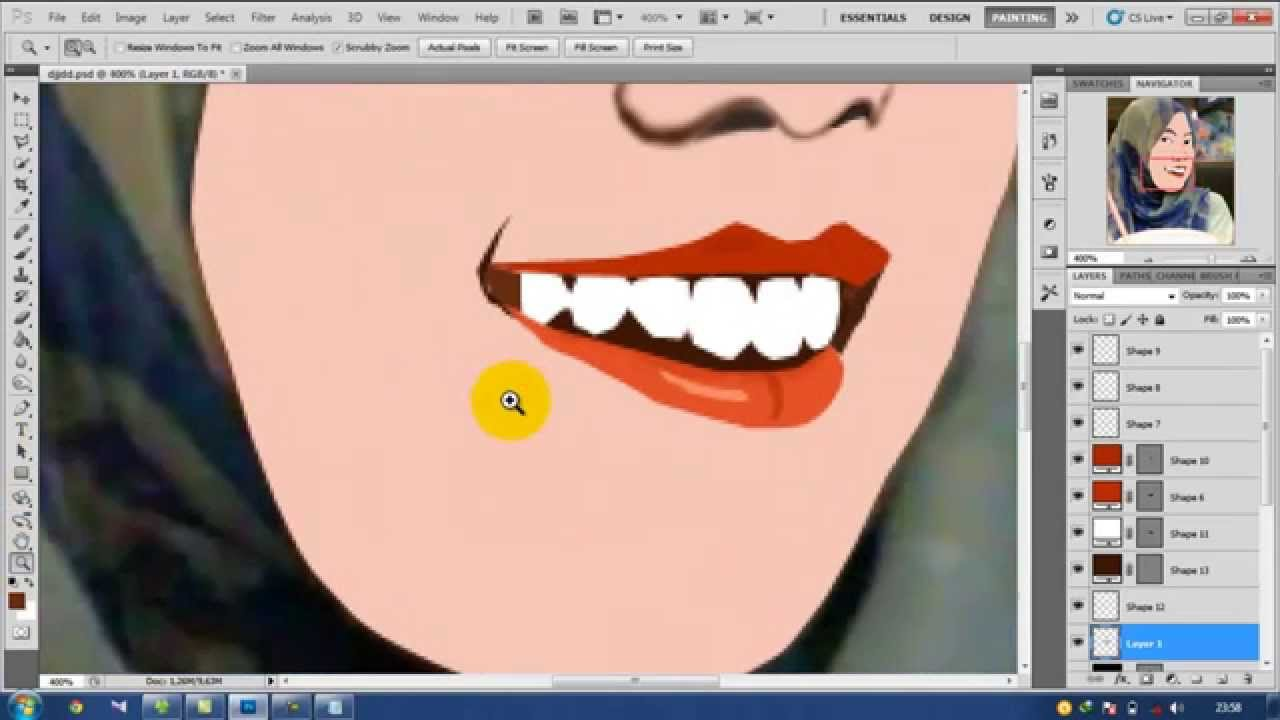 cara membuat clip art dengan photoshop - photo #35