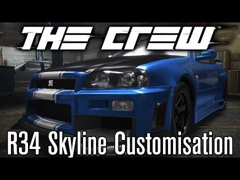The Crew (Beta) - Nissan Skyline GT-R (R34) Customisation [STREET]