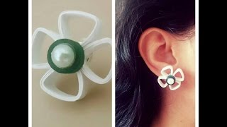 How to make Quilling Stud Earring/ Design 5/Tutorial