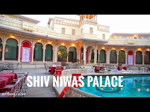 Shiv Niwas Palace Udaipur | Luxury Hotel In Rajasthan | 4k Video