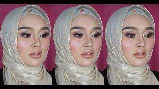 MUA Bellaz : Makeup Glass Skin Selicin Kulit Telur + Tips Untuk Kening Lebat Bersama HayaRahim