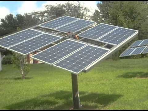 Passive Solar Tracking