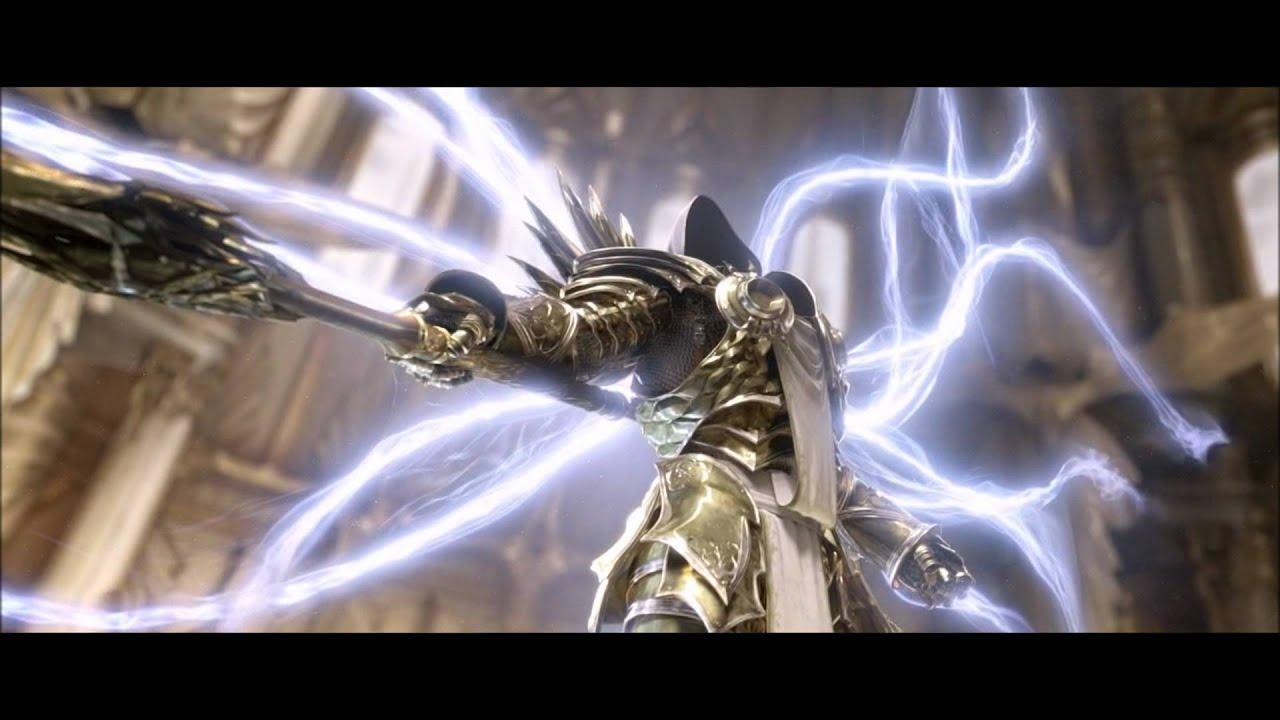 Diablo 3 Act 2 Cinematic Imperius Vs Tyrael HD