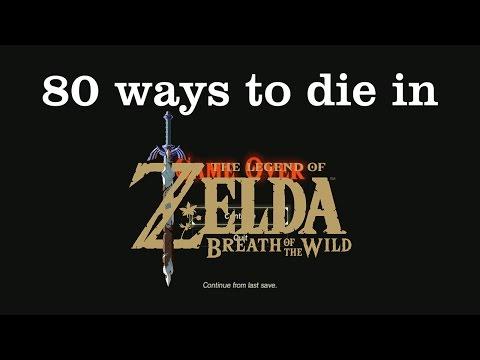 80 Ways to Die in The Legend of Zelda: Breath of the Wild [Spoilers]