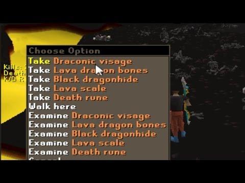 Runescape 2007 - Sparc Mac's Visage Drop & Project Pking!