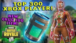 NEW LEGENDARY CHUG JUG CONSUMABLE and UNLOCKING AC/DC PICKAXE! - Fortnite Battle Royale