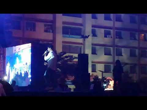 Suno Ganpati Bappa Morya by Amit Mishra at Zest Panchtattva 2K17, Lingaya's University