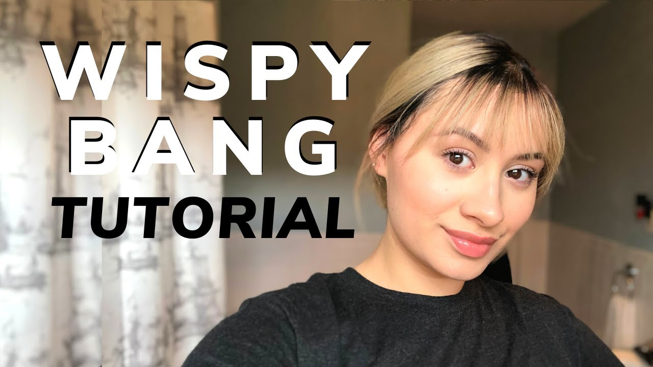 Cut Perfect Bangs At Home Youtube
