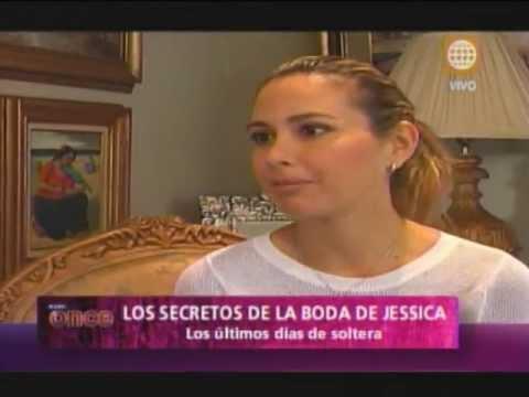A las Once -Secretos de la boda de Jessica Tapia- 25/04/13