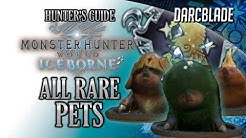 All Rare Pets Complete Guide : MHW Iceborne