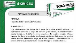 Valsartán - Medicamentos Genéricos KIMICEG