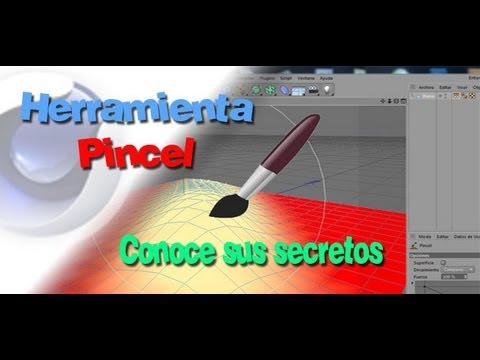 TUTORIAL  PINCEL DE CINEMA 4D