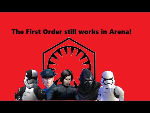 First Order still works in Arena! SWGOH