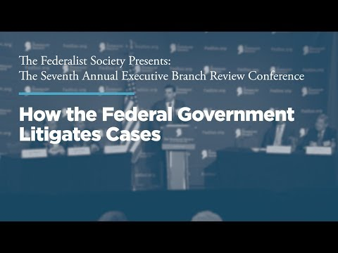 Seventh Annual Executive Branch Review Conference   The Federalist