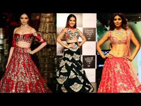 bollywood-actresses-in-lehenga- -#throwback2016- -deepika-padukone- -katrina-kaif- -alia-bhatt