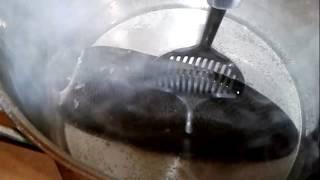 как почистить хвост бобра