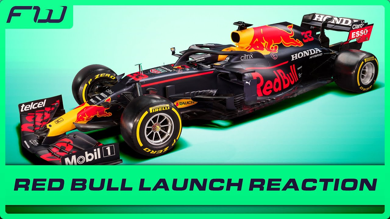 First Look At Red Bull's New 2021 Car: Reaction