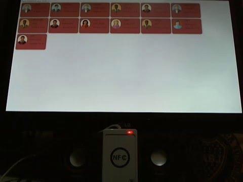 Raspberry - ACR122u - Node js - Socket io