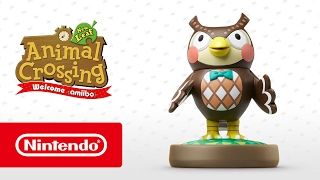 Animal Crossing: New Leaf - Welcome amiibo - Blathers (Nintendo 3DS)