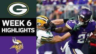 Packers vs. Vikings | NFL Week 6 Game Highlights thumbnail