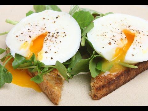 Как приготовить яйцо пашот в домашних условиях видео