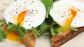 как готовить яйца пашот видео