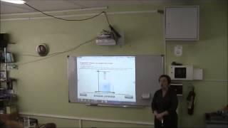 Урок физики по теме Сила Архимеда. МОУБ Гимназия 42.