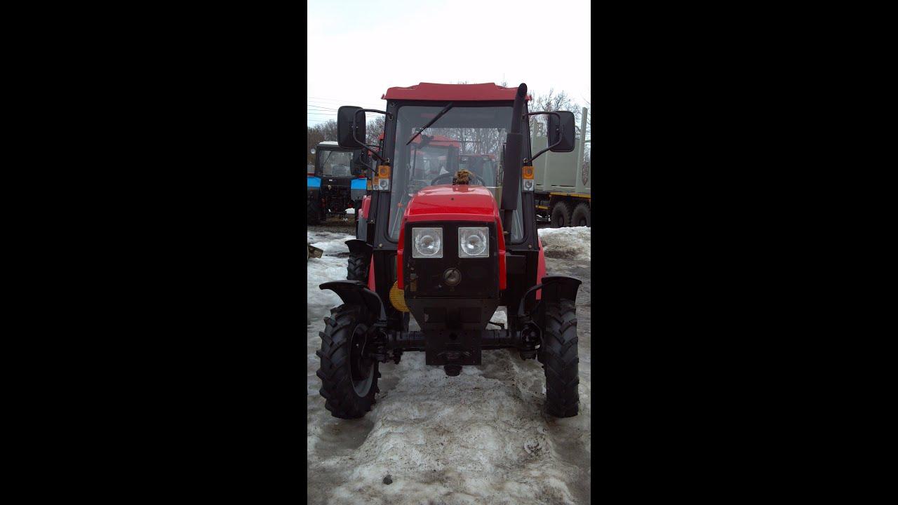 МТЗ-320 мини трактор - YouTube