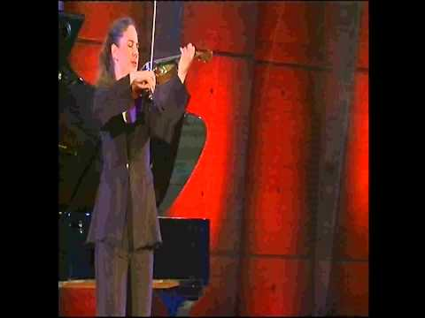 Stephanie-Marie Degand plays J.S. Bach's Chaconne for Solo Violin