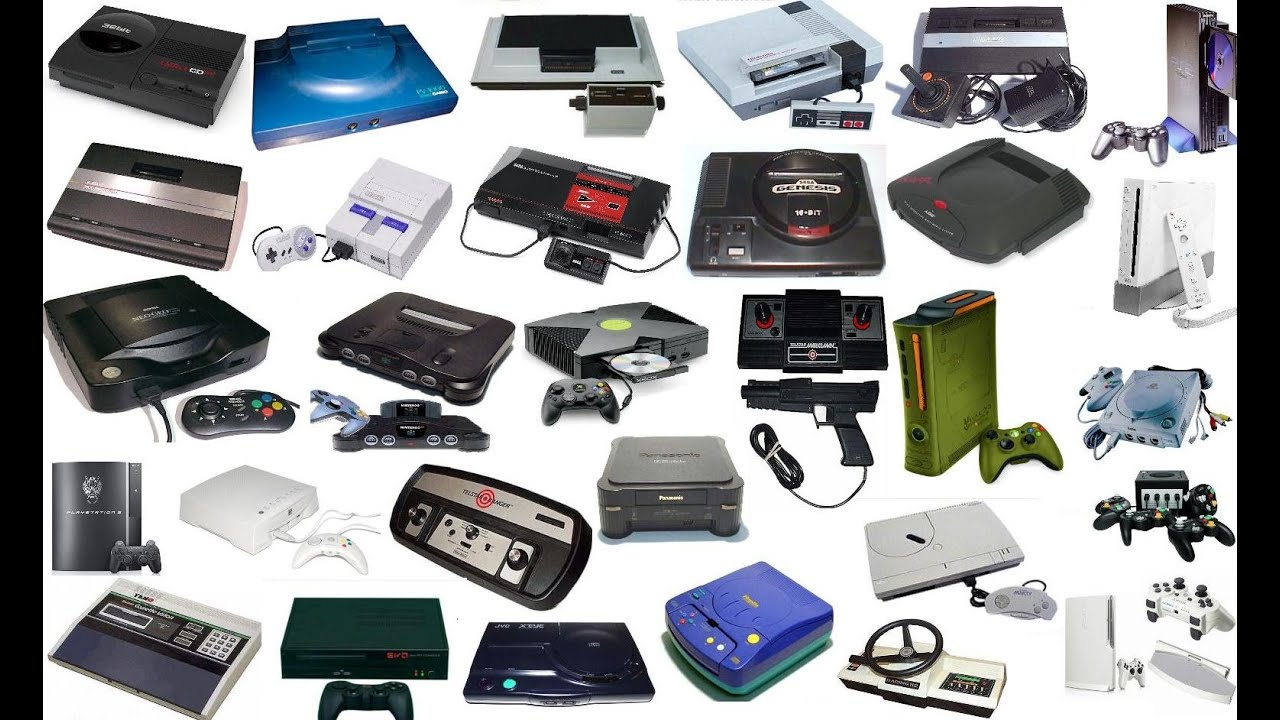 History of the Video Console Gaming Systems Through Seven Generations