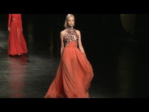 Prabal Gurung Fall 2014 New York Fashion Week - Backstage, interviews & runway | Videofashion