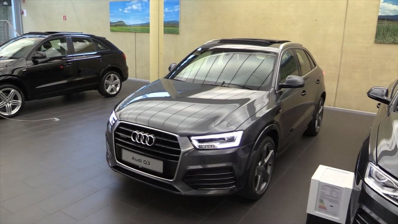 audi q3 2017 in depth review interior exterior youtube. Black Bedroom Furniture Sets. Home Design Ideas