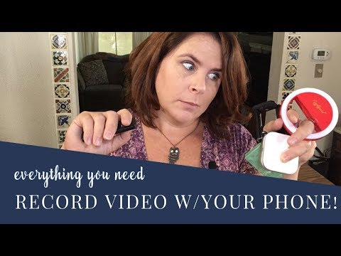 EVERYTHING YOU NEED TO RECORD VIDEO WITH AN IPHONE📱🎬